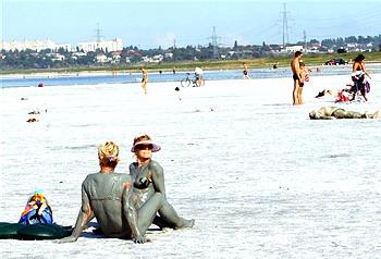Пляж санатория Куяльник