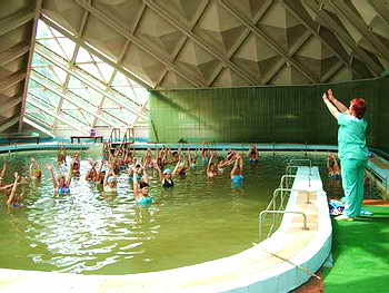 Лечебный бассейн Санаторий Куяльник Одесса