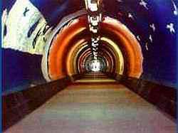 Лифт и тонель к морю санаторий Магнолия