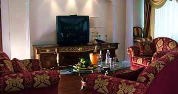 Президенский люкс в гостинице Одесса