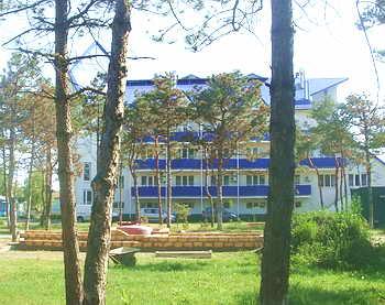 Отель в Коблево Березка New